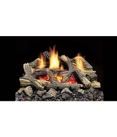 $673.20 MONESSEN AGED HICKORY VENT-FREE GAS LOG SET WITH DEB BURNER