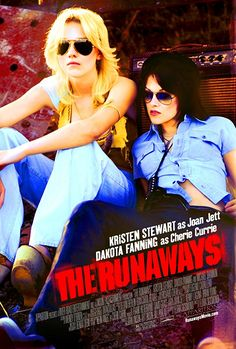 THE RUNAWAYS (2010): A coming-of-age biographical film about the 1970s teenage all-girl rock band The Runaways. This film also explores the relationship between band members Joan Jett and Cherie Currie.
