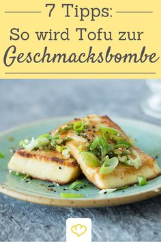 7 Tipps wie du Tofu zur Geschmacksbombe machst Because of bland: with this recipe you tickle the full taste potential out of tofu! The post 7 tips on how to make tofu a taste bomb & SHOW ME & Vegane Rezepte appeared first on Hautproblem . Vegetarian Recipes Tofu, Veggie Recipes, Healthy Recipes, Dinner Recipes, Menu Dieta, Homemade Burgers, Vegetarian Lifestyle, Salmon Recipes, Going Vegan