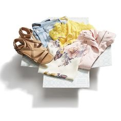 It's spring. In a box! Send your Stylist a hint now. How? Update your Fix Note & ask for spring colors to brighten up your closet at stitchfix.com.