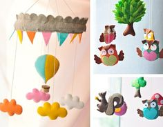 felt mobile- must have for my future babies