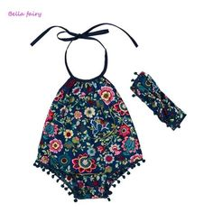 New Romper Baby Girl With Headband – Cullen and Co.