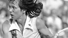 "Looking at Billie-Jean King, Tennis Champ and Lesbian Icon Who's Life Is The Subject of ""Battle of the Sexes"" 