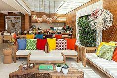 Inspiração ♡ #interiores #design #interiordesign #decor #decoração #decorlovers #archilovers #inspiration #ideias #varanda #terraço #varandagourmet #terraçogourmet
