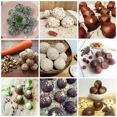 We& got 10 of our favourite Bliss Balls recipes that you can enjoy throughout the day, knowing they are low in calories, sugar and saturated fats. Healthy Mummy Recipes, Healthy Dessert Recipes, Yummy Snacks, Healthy Snacks, Diet Recipes, Recipies, Protein Recipes, Protein Snacks, Healthy Habits