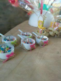 Detalhes mesa dos doces!