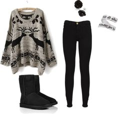 """""""winter"""" by elsa-swanson on Polyvore"""