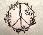 flower peace sign by ~vstar06 on deviantART