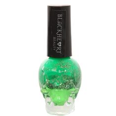 Blackheart Green Stack Nail Polish | Hot Topic ($3.75) ❤ liked on Polyvore featuring beauty products, nail care, nail polish, makeup, nails, beauty and hot topic