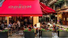 Το κομψό «Odeon» φέρνει γαλλικό αέρα στο Κολωνάκι Cafe Bar, Outdoor Decor, Restaurants, Cafes, Coffee Cozy, Restaurant, Diners