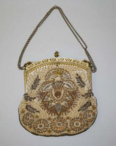 Object Name  Bag, Evening  Date  1926–28