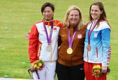 Kim Rhode wins GOLD in Women's Skeet Shooting, making her the first US athlete to medal in an individual sport at 5 straight Olympic Games. #GoTeamUSA #LondonOlympics #shooting #usolympichistory