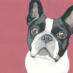 Items similar to Custom Pet Portraits - inch Painted Portrait - Custom Pet Painting - Jack Russell Terrier Painting - Custom Pet Painting- Dog Art on Etsy - Dog Portraits - Boston Terrier Art, French Bulldog Art, Dog Wallpaper, Dog Portraits, Animal Paintings, Graphic, Cat Art, Dog Pictures, Cute Dogs