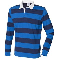 Front Row Men's Striped Sports Rugby Polo Shirt (1.405 RUB) ❤ liked on Polyvore featuring men's fashion, men's clothing, men's shirts, men's polos, mens sports shirts, mens sports polo shirts, mens polo shirts, mens striped shirt and mens stripe shirts