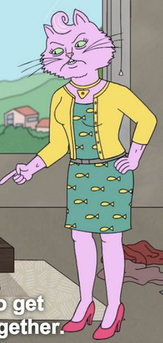 Princess Caroline from Bojack Horseman costume idea.
