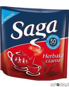 Saga Herbata czarna (50 torebek) - Schodzi.pl