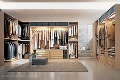 Freestanding closet system with maximum versatility for personalizing finish and interior. Customizable to exist with or without doors.
