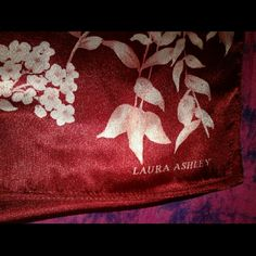 NWT LAURA ASHLEY SCARF NWT & WELL STORED LOVELY'S  PLEASE ASK ME TO DOUBLE CHECK BEFORE PURCHASING I SELL ON OTHER SITES & THE DAY CAN GET HECTIC ?? BUNDLING IS AN OPTION I ANSWER ?'s 6:30AM - 8:30PM PACIFIC TIME WHEN I AM NOT DRIVING. I WILL ALWAYS TRY TO GET BACK TO YOU ASAP BUT AS WE ALL KNOW LIFE'S A LIL FUNNY SOMETIMES ;) QUESTIONS AFTER 8:30pm WILL BE ANSWERED NEXT DAY.  THANKS FOR YOUR INQUIRY & HOPE Y'ALL HAVE A GREAT DAY  ;) LAURA ASHLEY Accessories Scarves & Wraps