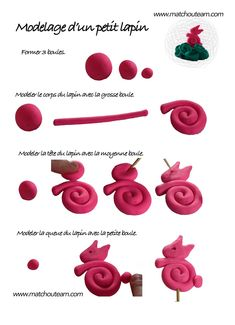pates sel et modeler on pinterest atelier play dough. Black Bedroom Furniture Sets. Home Design Ideas