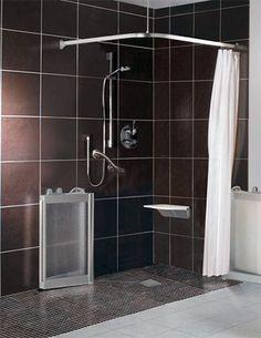 Contour Corner Access Wf5 White Half Height Shower