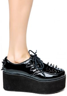 Y.R.U. Kreep Er Shoes featuring the classic creeper style with some major twists.