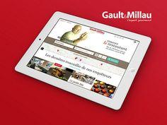 Gault&Millau // Page d'accueil sur Ipad by Caroline Constant, via Flickr