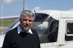 Herr Brunzema von den Inselfliegern. #WattWiki