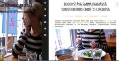 Christchurchin nähtävyyksiä ja blogien kautta toisilleen tutuksi tulleiden ystävien näkemistä. Maisemakuvia sekä historiaa!   http://meriannen.com/blogiystava-sanna-kaymassa-turistikierros-christchurchissa/