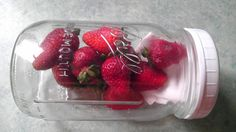 Strawberries stay fresh up to 2 weeks! Keep strawberries fresh longer - use the glass jar method.