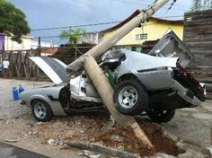 wrecked muscle cars pictures - Google Search: