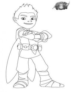 tree fu tom tree fu tom coloring pages for kids sprout