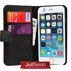 Jellibean Apple iPhone 6 Plus Leather Wallet  Flip Case Cover  Screen Protector #February