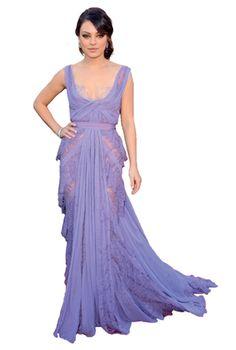 Prom inspiration: Mila Kunis at the 2011 Oscars