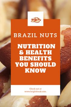 Read on to see just how Brazil nuts benefits can be good for your health! This nuts selenium is key for boosting the immune system. Brazil Nuts Nutrition, Health And Nutrition, Health Tips, Coconut Benefits, Lemon Benefits, Health Benefits, Stomach Ulcers, Prevent Diabetes, How To Cook Rice