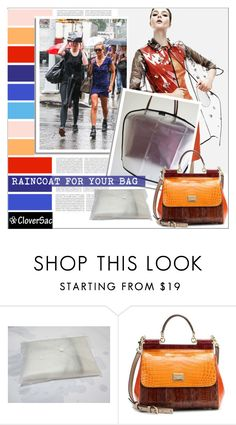 """Raincoat for your Bag by CloverSac"" by cloversac ❤ liked on Polyvore featuring Oris, Michael Kors, Baldwin, Dolce&Gabbana, women's clothing, women, female, woman, misses and juniors"