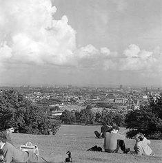 Parliament hill 1960 Camden London, Old London, West London, Hampstead Village, Hampstead Heath, Barnet, North West, Vintage Photos, Photo Shoot
