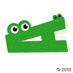 A Is For Alligator Craft Kit