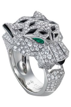 Cartier's Panther ring, shop this holiday season's most luxurious gifts:  luxury, billionaire, luxury cars, glamorous life, Yachts, luxury experience, jewelry luxurylifestyle, for more inspirations: http://www.bocadolobo.com/en/inspiration-and-ideas/