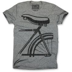 Bike Seat Tee Men's Gray, $19.75, now featured on Fab.