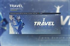 Travel - Facebook Timeline Cover by VectorMedia on @creativemarket