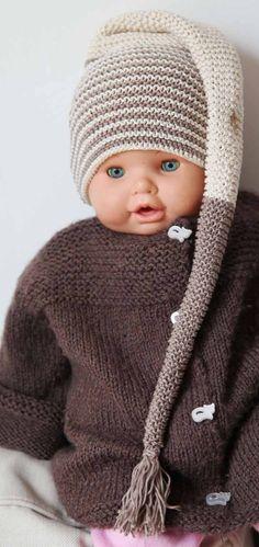Pour les photographes de bébés, ce bonnet de lutin en coton biologique by Paulette, sur a little market