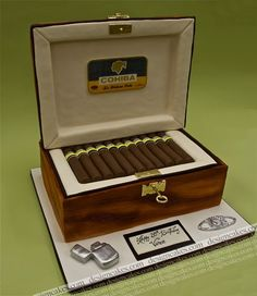cigare box cake