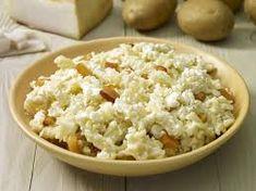 sztrapacska – Google Kereső Snack Recipes, Snacks, Feta, Risotto, Dairy, Cheese, Ethnic Recipes, Google, Kitchen