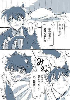 Manga Detective Conan, Detective Conan Shinichi, Ran And Shinichi, Kudo Shinichi, Magic Kaito, Conan Comics, Kaito Kuroba, Amuro Tooru, Cute Gay Couples