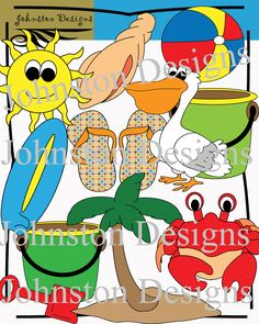 There are 24 colorful png images with 300 dpi and 22 black and white png image. Overall, there is a total of 46 png images with 300 DPI. All fre. Ocean Themes, Beach Themes, Beach Clipart, Pirate Theme, Art File, Book Crafts, Kids Learning, Summer Fun, Challenges