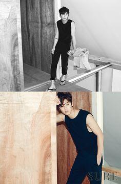 CNBLUE Min Hyuk - Sure Magazine June Issue '15