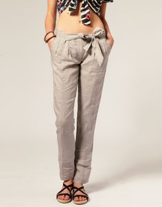 linen trouser by komodo