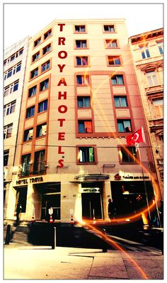 *Summer is here!!  www.hoteltroya.com Book your room 15 days before your arrive and get your %5 early booking discount* Summer Is Here, Golden Gate Bridge, Istanbul, Times Square, Fair Grounds, Book, Modern, Troy, Trendy Tree