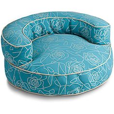 @Overstock - This enchanting bolster dog bed with removable cover is just the right spot for your pup?s afternoon nap. This cheery bed fits perfectly in every room and your pampered pooch will fit perfectly in it.  http://www.overstock.com/Pet-Supplies/Crypton-Bed-of-Roses-Bolster-Blue-44-Inch-Dog-Bed/6575084/product.html?CID=214117 $249.00