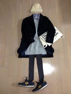 ニットワンピ*gu チェックシャツ*UNIQLO このコーデ、タイツもヒートテックでぬっくぬく〜(≧∇≦)♡ Fall Winter Outfits, Winter Fashion, Minimal Chic, Sporty Style, Grunge Fashion, Skirt Fashion, Fashion Photo, Korean Fashion, Outfit Of The Day